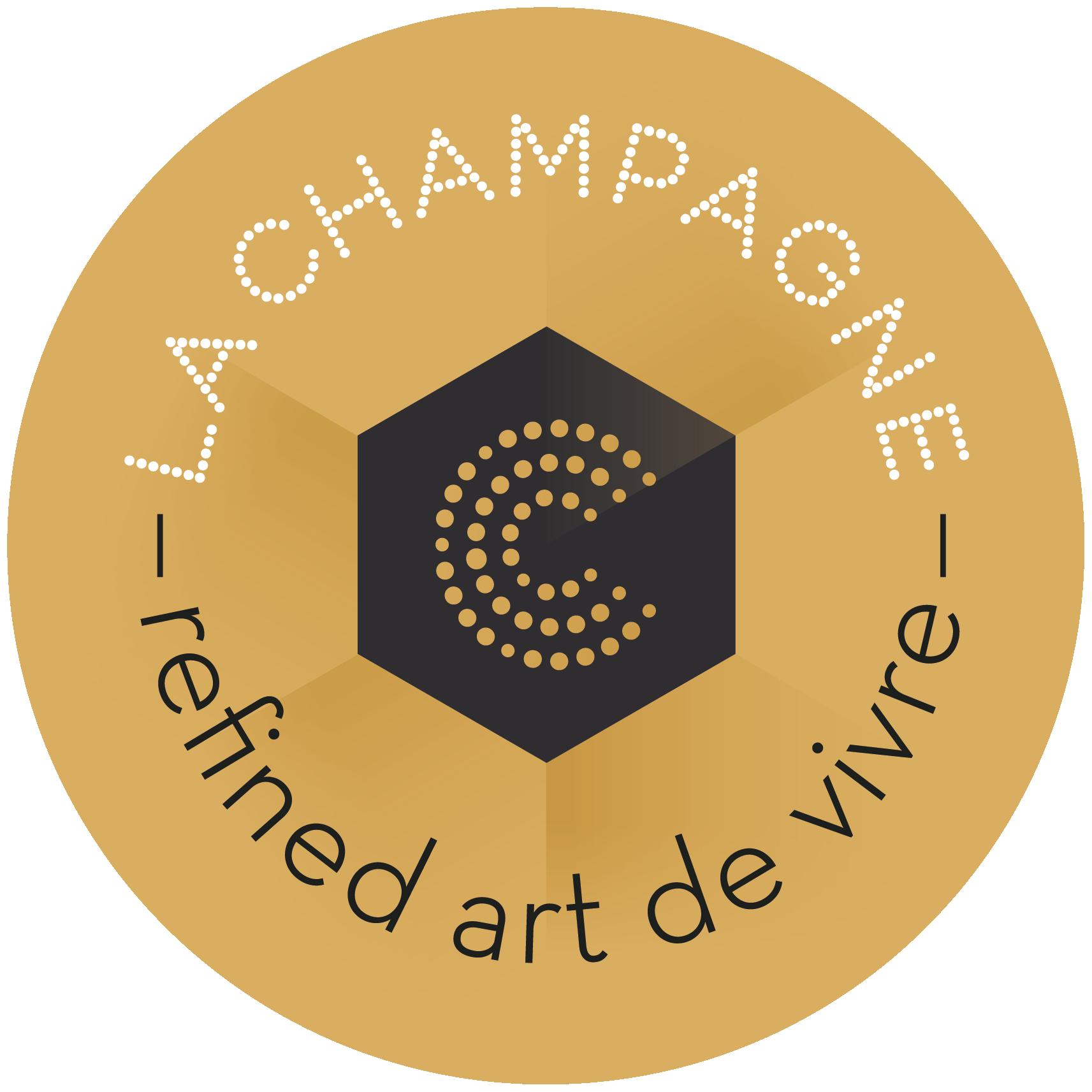 logo la champagne refined art de vivre
