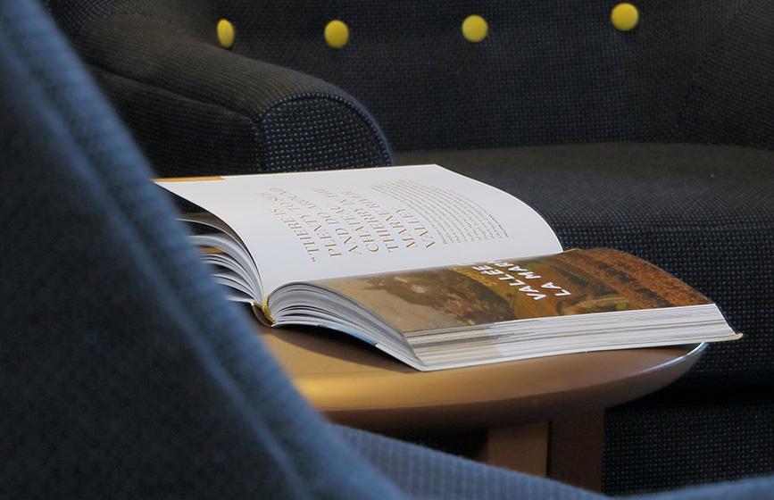 Livre Table Junior Suite - Hotel Restaurant Les Grains d'Argent