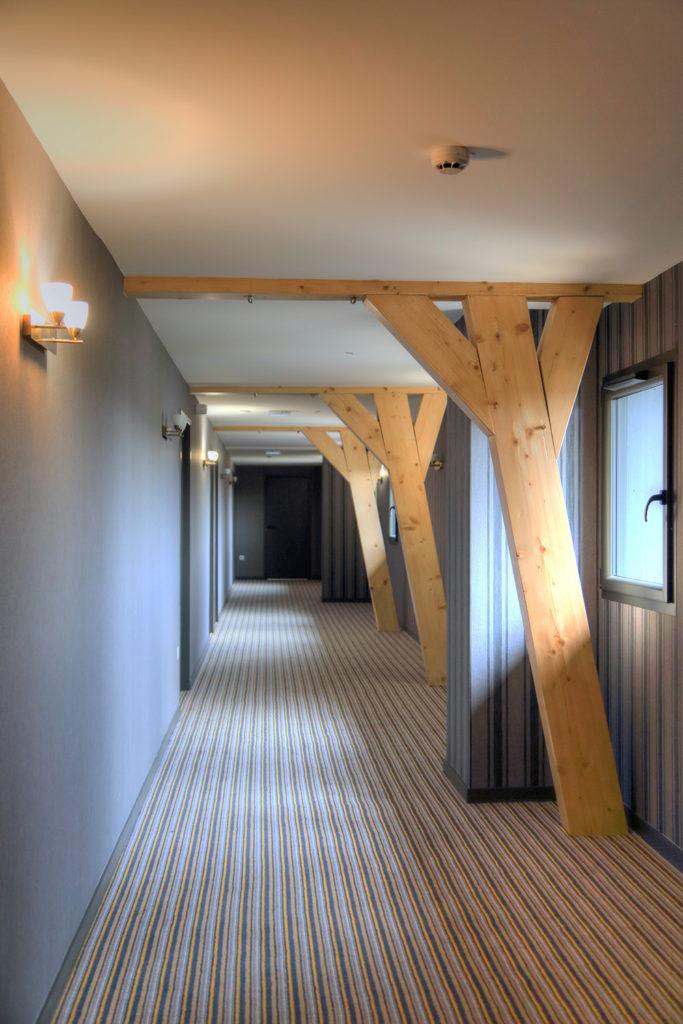 Couloir - Hotel Restaurant les grains d'argent