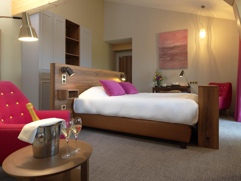 Chambre Suite - Hotel Restaurant Les Grains d'Argent