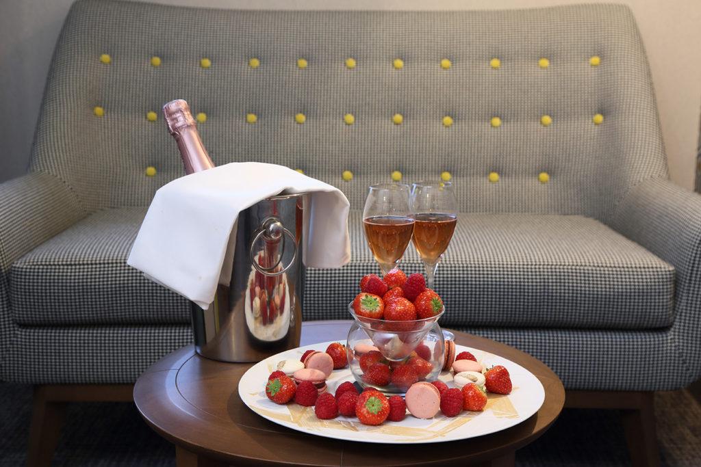 Champagne et Flute - Hotel Restaurant Les Grains d'Argent