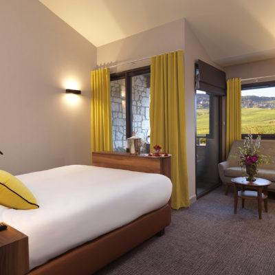 Chambre Jaune - Hotel Restaurant Grains d'Argent
