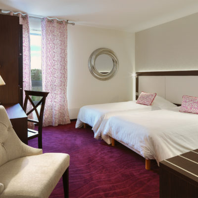 Chambre Twins - Hotel grains d'argent