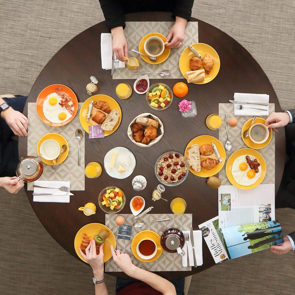 Photo Petit déjeuner - Hotel Restaurant les grains d'argent